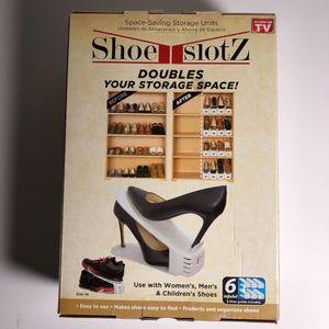 Shoe Slotz Space Saver 6 Units AS SEEN ON TV Shoes